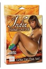 India Nubian Love Doll : Superbe poupée noire à honorer par tous les orifices.